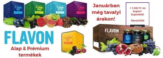 Január Flavon akcio és kupon