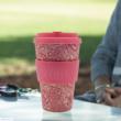 Ecoffee Cup hordozható kávéspohár - WM Poppy, 400 ml