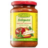 Rapunzel bio Vegetáriánus Bolognai szósz, 340 g