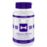 Bioheal Kalcium 500mg + D3-vitamin + K2-vitamin filmtabletta, 70 db