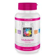 Bioheal Multivitamin 1350mg 11 vitamin és ásványi anyag hozzáadásával, 70 db
