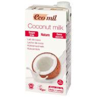 Ecomil bio kókusztej, cukormentes, 1000 ml