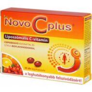 Novo C plus liposzómális C-vitamin csipkebogyóval, 30 db