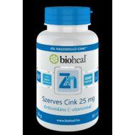 Bioheal Szerves Cink 25 mg, 60+10 db