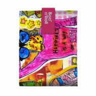 Boc'n'Roll Tini szendvicscsomagoló, Pink Zsiráf