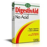 ESI Digestiv Aid - No Acid lúgosító-savlekötő tabletta 12db