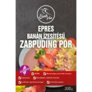 Szafi Free Epres, banán ízesítésű zabpuding por (gluténmentes, tejmentes, tojásmentes), 300 g