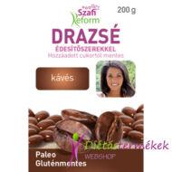 Szafi Reform Eritrites kávés drazsé (gluténmentes, vegán, paleo), 200 g