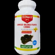 Dr. Herz Ginkgo Biloba Forte 120 mg +Magnézium kapszula, 60 db