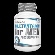 BioTech Multivitamin for Men férfivitamin, 60 db