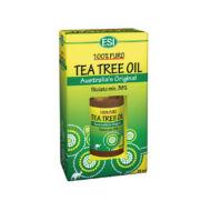 ESI 100%-os Teafa olaj, gyógyszerkönyvi tisztaságú, 25 ml