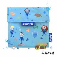 Snack'n'Go KIDS kék ételcsomagoló - Óceán