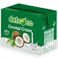 Del Coco kókusztejszín, 200 ml