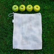 Julka hálós textilszütyő bevásárláshoz - M - 30*35 cm