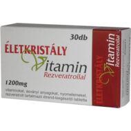 Életkristály vitamin rezveratrollal, 30 db