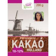 Szafi Reform Zsírszegény holland kakaópor 10-12%, 200 g