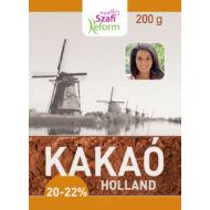 Szafi Reform Zsírszegény holland kakaópor 20-22%, 200 g
