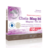 Olimp Labs ChelaMag kelát kötésű szerves magnézium + B6 kapszula, 30 db