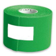 Kineziológiai tapasz 5cmx5m, zöld