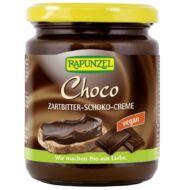 Rapunzel bio Csokoládékrém tej és mogyoró nélkül, 250 g