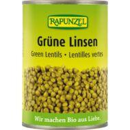 Rapunzel bio Zöld lencse sós lében, 400 g