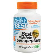 Szerrapeptáz serrapeptase enzim, nagy dózisú, 90 db
