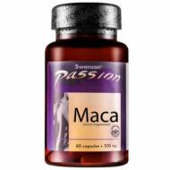 Swanson Maca gyökér kivonat 500 mg, 60 db kapszula