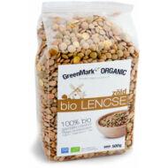 GreenMark bio zöld lencse, 500g