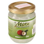 Meru szűz kókuszolaj/kókuszzsír, VCO 200 ml