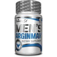BioTech Men's Arginmax/Men's Arginin tabletta, 90 db