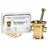Bio-Szelénium 100 + Cink + vitaminok tabletta, 30 db