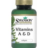 Swanson A-D vitamin kapszula, 250 db