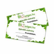 Biosziget ajándékutalvány 5000 Ft értékben
