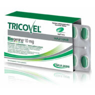 Tricovel Biogenina 10 mg, hajszépség vitamin, 30 db