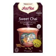 Yogi Bio Édes chai tea, SWEET CHAI, 17 filter