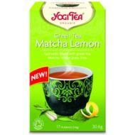 Yogi Bio Zöld matcha-citrom tea, MATCHA LEMON, 17 filter