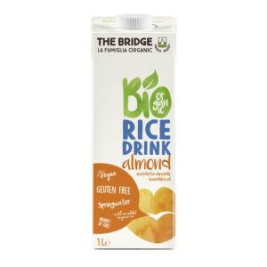 The Bridge bio rizsital 1000 ml  mandulás