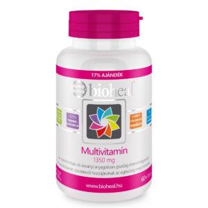 Bioheal Multivitamin 1350mg 11 vitamin és ásványi anyag hozzáadásával 70 db