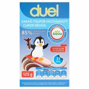 Duel instant kakaó italpor 85százalékos hozzáadott cukor nélkül 125 g