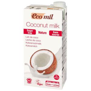 Ecomil bio kókusztej cukormentes 1000 ml