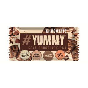 Yummy gyümölcsösmogyorós gluténmentes szója szelet étcsokoládé darabokkal 40 g