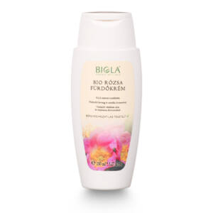 Biola bio Rózsa fürdőkrém 200 ml