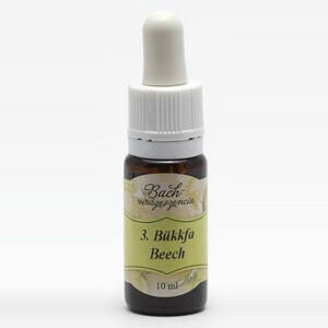 Bach virágterápia, 10 ml - Bükkfa, a tolerancia virága - 3-as