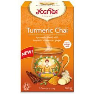 Yogi Bio Kurkuma tea TURMERIC CHAI 17 filter