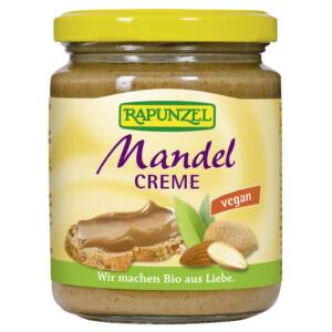 Rapunzel bio Mandulakrém nádcukorral, vegán, 250 g