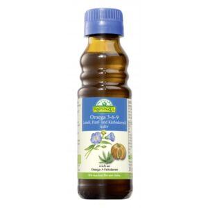 Rapunzel bio Omega 3-6-9 olajkeverék, natív, 100 ml