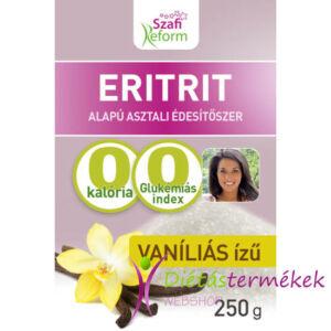 Szafi Reform Vaníliás ízű eritrit eritritol 250 g
