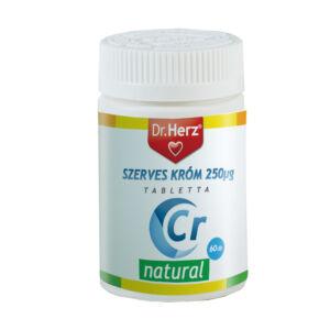 Dr Herz Szerves Krómpikolinát 250 µg 60 db tabletta