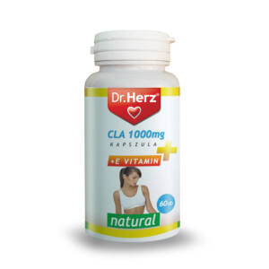 Dr. Herz CLA 1000 mg Evitamin 60 db kapszula