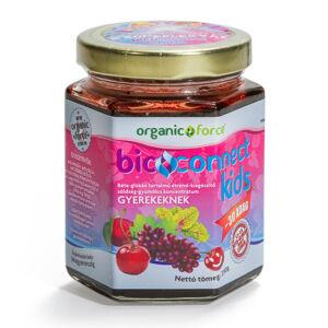 Bioconnect Kids szuperlekvár béta-glükánnal, gyümölcs-zöldség koncentrátum gyerekeknek 210 g